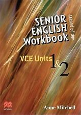 NEW Senior English Workbook By Anne Mitchell Book with Other Items Free Shipping