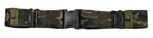 Military Marine Corps Style Nylon Quick Release Pistol Belt