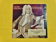 Werbeplatte ETERNA Georg Friedrich Händel 1959, sehr selten !!!!!