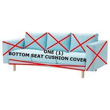IKEA NORSBORG Edum Light Blue Sofa SEAT CUSHION COVER Replacement PART 30304095