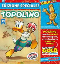 Supertopolino N° 3315 - Con Statuetta Paperino Gold - Panini - ITALIANO #NSF3