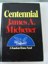 Centennial by James A. Michener 1974 Hardcover Signed Hardcover Book