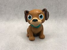 "Disney Doc McStuffins Findo Brown Dog Toy Figurine Figure 2.75"" Replacement"