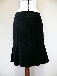 Boden soft velvet flirty pencil skirt - GOLD, BLACK or DARK BLUE RRP £69*