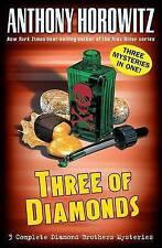 Three of Diamonds (Diamond Brother Mysteries)-ExLibrary