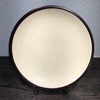 MIKASA Terra Stone Vanilla Serving Platter Chop Plate JAPAN Vintage E1955