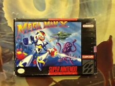 Mega Man X Complete Super Nintendo Tested & Working! SNES Capcom