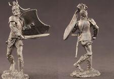 tin toy soldiers unpainted  54mm Greek Warrior