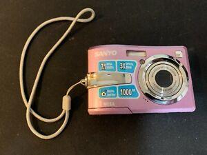 SANYO VPC-S770 Digital Camera Purple 7.1 Mega 3x Optical Zoom Tested