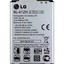 ORIGINAL LG BL-41ZH AKKU ACCU BATTERY --- L50 Sporty D213N D290N - 1900mAh - NEU