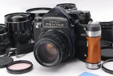 [Exc+++++] Pentax 6x7 67 TTL M up w/55,75,90,105,135 5Lens kit from Japan #321
