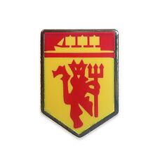 Manchester United FC Official Soccer Gift 1 Pack Devil & Ship Pin Badge