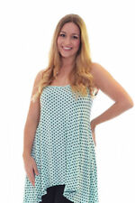 Polka Dot Machine Washable Sleeveless Tops for Women