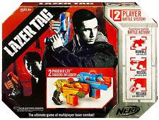 Nerf Laser Tag Phoenix LTX 2-Pack Lazer Taggers Multiplayer Combat Battle System