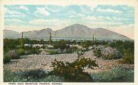 DB Postcard AZ L360 Camel Back Mountain Phoenix Arizona Scenic Landscape Boeres