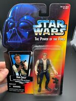 Star Wars Power of the Force Han Solo Action Figure 1995 POTF Kenner NEW