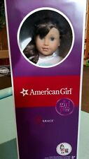 "American Girl GRACE THOMAS DOLL OF THE YEAR 18"" NEW - Paris -  Girl of the year"