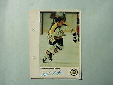 1971/72 TORONTO SUN NHL ACTION HOCKEY PHOTO KEN HODGE SHARP!! TORONTO SUN