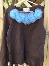 OLD STOCK DESIGNER BARGAIN!! OOPSY DAISY BABY floral Neck Top Age 10