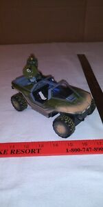 HALO RC WARTHOG WITH 2 FIGURES AS IS NO REMOTE