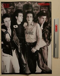 The Clash / Morrissey, Original NME Double Sided Poster (Strummer, The Smiths)