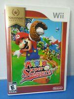 Mario Super Sluggers Nintendo Wii Game Complete in box w/ manual