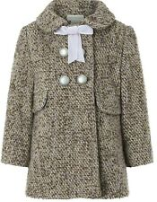 Monsoon Children's Baby Lavender Tweed Lilac Winter Coat Jacket AGE 1 To 3 YRS