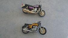 lot moto sidecar polistil 70 honda 750 four et suzuki gt kettle