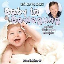 REINHARD HORN - BABY IN BEWEGUNG-40 LIEDER FÜR DIE ERSTEN LEBENSJAHRE  CD NEU