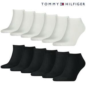 Tommy Hilfiger Trainer Socks TH Cotton Blend Sneaker Ankle Sports Sock 6 Pack
