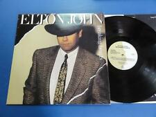 ELTON JOHN  BREAKING HEARTS Rocket 84 A1B1 UK LP EX/EX+