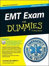 EMT EXAM FOR DUMMIES WITH FREE ONLINE PRACTICE TESTS - HSIEH, ARTHUR - NEW BOOK