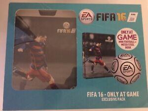 Fifa 16 Steelbook Box Set With Ball - EA Sports (New)