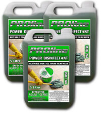 PROline Pine Power Disinfectant 3x5 ltr Bottles (15ltrs)