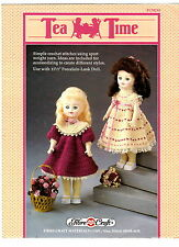 Fiber-Craft Crochet Pattern Book  TEA TIME DOLL CLOTHES FMC214