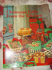 Christmas Gifts From The Kitchen cooking cookbook vintage cookies cakes holiday