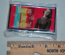 Hooray For Martinis Business Card Holder Case New