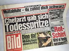 Bildzeitung vom 03.09.1993 *zum 23. 24. 25. 26. Geburtstag * Hochzeit *