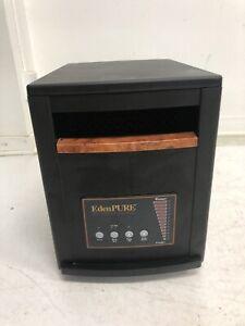 Edenpure Gen 3 Space Heater A4136 portable quartz infrared rolling gen3 black