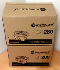 4 x MONITOR AUDIO CT280 IN CEILING SPEAKERS