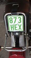 Kennzeichenhalter für Simson Moped S50,51,70,Enduro Gepäckträgermontage