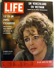 1966 LIFE MAGAZINE Elizabeth Taylor- Virginia Woolf -  SPANISH EDITION