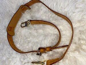Authentic LOUIS VUITTON Leather Bandoliere Crossbody/Shoulder Strap. VGC