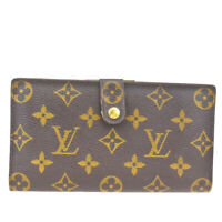 Auth LOUIS VUITTON Continental Clutch Long Bifold Wallet Monogram T61217 05MC286