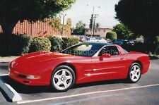 CLASSIC RIDE Found CAR PHOTO Color FREE SHIPPING Original Snapshot RED 812 13 M