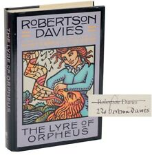 Robertson DAVIES / THE LYRE OF ORPHEUS Signed First Edition 1988 #107881
