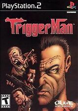 Trigger Man (Sony PlayStation 2, 2004) NEW Factory Sealed PS2 Mobster FREE SHIP
