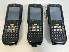 Lot of 3 Motorola Zebra Mc9590 Handheld Barcode Scanner W/ Batteries&Hand Strap