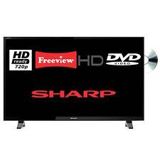 "Sharp LC-24DHG6131K Aquos Net+ 24"" LED TV DVD Combi HD Ready 720p Freeview HD"