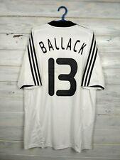 Ballack Germany Jersey 2008 2009 Home L Shirt Adidas Football Soccer